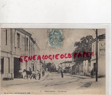33-  GRADIGNAN - LE BOURG - MARECHAL FERRANT - FERRAGE D' UN CHEVAL  - GIRONDE - Gradignan