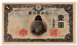 JAPAN,1 YEN,1943,P.49,UNC - Japan