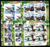 O22. Burundi - MNH - Animals & Fauna - Different Animals - Imperf - Unclassified