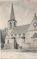 CPA  De  CUTS  (60)  -  L'  Eglise  Animée    //    TBE - France