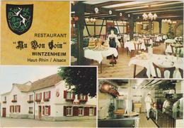 """Haut  Rhin :  WINTZENHEIM :  Restaurant """" Au Bon  Coin """" - Wintzenheim"""