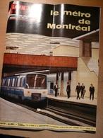Vie Du Rail 1077 1967 Tunnel De Sampanges Metro De Montréal Colonie Kerandraon De Plobannalec - Trains
