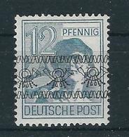 MiNr. 40 I DD I Aufdruck Vorder- Und Rückseitig, Xx Postfrisch - Amerikaanse-en Britse Zone