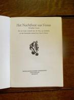 Boekje   HET  NACHTFEEST  VAN  VENUS  1946 - Poésie