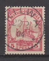 DUITSE KOLONIEN - OOST-AFRIKA  1901  Michel   13   KILWA   , See  Scan ,used/VF   [DK  392  ] - Colonie: Afrique Orientale