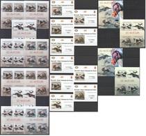 Q662 !!! IMPERFORATE, PERFORATE 2012 BURUNDI BIRDS LES VAUTORS !!! 12KB+2BL+10 LUX BL MNH - Adler & Greifvögel