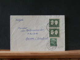 78/284A  LETTRE ALLEMAGNE POUR LA BELG. - Briefe U. Dokumente