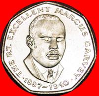 # GARVEY (1887-1940): JAMAICA ★ 25 CENTS 1994 MINT LUSTER! LOW START ★ NO RESERVE! - Jamaica