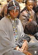 Afrique BURKINA FASO En Pays LIPTAKO Réserve Et Noblesse D'une Femme Bella   (Femme Coiffure Bijoux)*PRIX FIXE - Burkina Faso