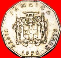 # GARVEY (1887-1940): JAMAICA ★ 50 CENTS 1975! LOW START ★ NO RESERVE! - Jamaica