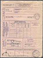 CANTON De L'EST - Doc. 231A Annexe Pour Envoi EXPRES Obl. Sc SCHAERBEEK 23-2-1926 + Cachet Télégraphique SAINT-VITH T ** - Guerre 14-18