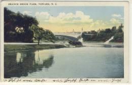 NEWARK  N.J.  BRANCH BROOK PARK  PU 1923 - NY - New York