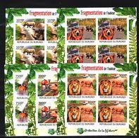 P22. Burundi - MNH - Animals & Fauna - Mammals - Various Animals- Imperf - Unclassified