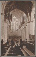 Interior, St Giles' Cathedral, Edinburgh, C.1920 - Judges RP Postcard - Midlothian/ Edinburgh