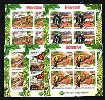 P22. Burundi - MNH - Animals & Fauna - Various Birds - Imperf - Birds