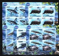 P22. Burundi - MNH - Animals & Fauna - Marine Mammals - Whales - Imperf - Whales