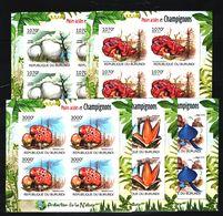 P22. Burundi - MNH - Plants - Mushrooms - Imperf - Mushrooms