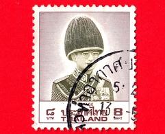 TAILANDIA - THAILAND - Usato - 1989 -  King Bhumibol Adulyadej (1988-1995) - 8 - Tailandia