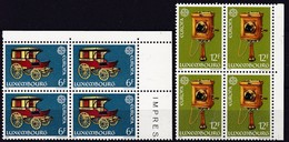 1979, Luxemburg, 987/88, Europa: Geschichte Des Post- Und Fernmeldewesens. MNH ** - Luxembourg