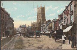 Market Place, Cirencester, Gloucestershire, 1904 - Bailey & Woods Postcard - England