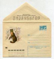 COVER USSR 1973 MARTEN FAUNA #73-409 - 1970-79