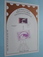 EXPOSITION PHILATELIQUE INTERNATIONALE - ARPHILA 75 ( PARIS 1 Mars 1975 / Voir Photo ) Format A4 - N° 32 De 35 Ex. - FDC