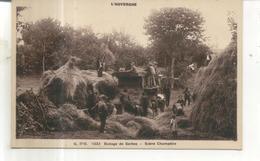 L'Auvergne, 1033. Battage Des Gerbes, Scene Champetre - Unclassified