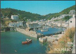The Harbour Entrance, Polperro, Cornwall, C.1990 - Salmon Postcard - England