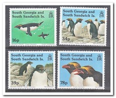 Zuid Georgië 1993, Postfris MNH, Birds, Penguins - Zuid-Georgia