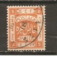 Palestina. Nº Yvert  8 (usado) (o) - Palestine