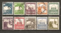 Palestina. Nº Yvert  63-64, 65A-67, 68A, 69A-70, 73-74 (usado) (o) - Palestina