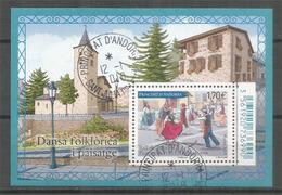 La Danse Des Bâtons,  1 Bloc-feuillet 2017 Oblitéré, 1 ère Qualité - Used Stamps