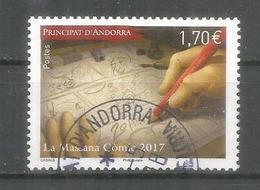 ANDORRA. Museu Del Còmic D'Andorra. Un Timbre Oblitéré 1 ère Qualité  2017 - Stripsverhalen
