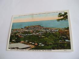 Panama - Bird's Eye View Of Panama City - Panama