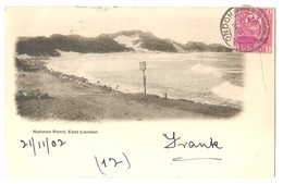 SOUTH AFRICA - EAST LONDON - NAHOON POINT - STAMP - MAILED TO ITALY 1902 - ( 2784) - South Africa