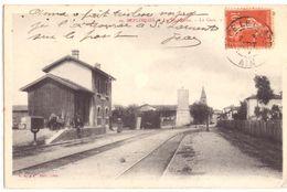 Replonges La Madeleine La Gare (rails Tramway) - Sonstige Gemeinden