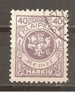 Memel - Klaipeda - Nº Yvert  119 (usado) (o) - Memel (Klaïpeda)