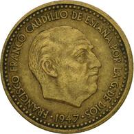 Monnaie, Espagne, Francisco Franco, Caudillo, Peseta, 1954, TB+ - [ 5] 1949-… : Royaume