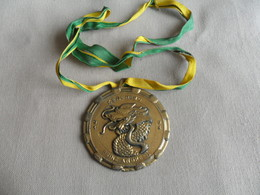 MEDAILLON LES DRAGONS VERTS / KENEHEMO PRINZ ANDRE II  / 93 - 94 + 1 PETIT EN CADEAU HOFNAAR HUBERT - Carnaval