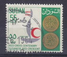 Sudan 1963  Mi. 196    55 M Red Cross Rotes Kreuz Croix Rouge Cruz Roja - Sudan (1954-...)