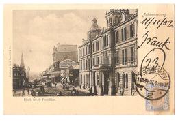 SOUTH AFRICA - JOHANNESBURG - RISSIL STR. & POSTOFFICE - EDITJ. BARNETT & C. - STAMP - MAILED TO ITALY 1902 - ( 2786) - South Africa