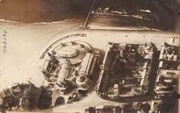 CPA -  BELGIQUE , OOSTENDE -  Le Kursaal Et La Plage -  Carte Photo, Aerial View - Oostende