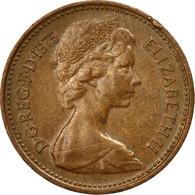 Monnaie, Grande-Bretagne, Elizabeth II, New Penny, 1975, TB+, Bronze, KM:915 - 1971-… : Monnaies Décimales