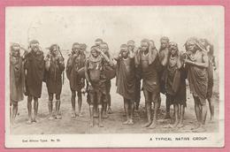Kenya - Typical Native Group - East African Types N° 25 - 2 Scans - Kenya