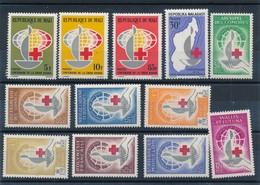 CD-273 :CENTENAIRE CROIX ROUGE:  Lot** - Briefmarken