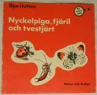 På Nära Håll - Djur I Luften: Nyckelpiga, Fjäril Och Tvestjärt - Books, Magazines, Comics