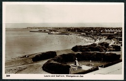 RB 1212 - Real Photo Postcard - Lawns & Seafront Westgate-on-Sea - Kent - England