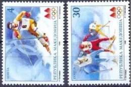 Macedonie Macedonia 1998 Yvertn° 114-15 *** MNH Cote 2,25 Euro Sport - Macédoine