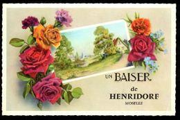 Un Baiser De HENRIDORF (Moselle) - Francia