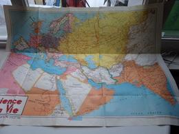 La SCIENCE Et La VIE ( Supplément Au Numéro Avril 1940 )  ( Voir Photo ) ! - Cartes Géographiques